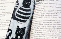 kotki czarno-białe