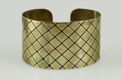Kratka - mosiężna bransoleta 130324-02