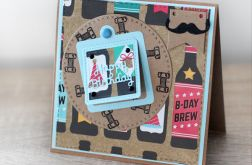 Kartka urodzinowa z piwem KU077