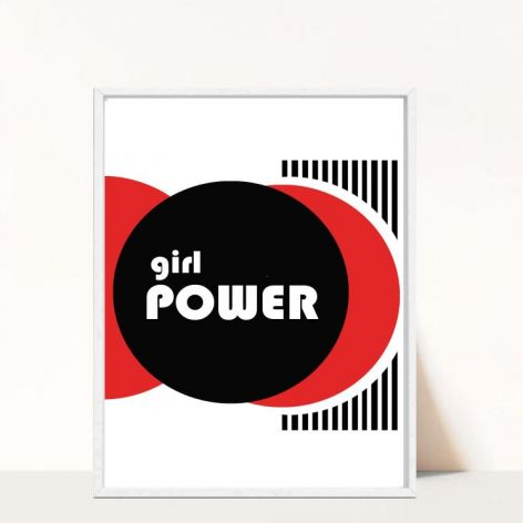 Plakat Girl Power