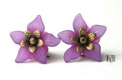 Kolczyki Kwiaty - 4