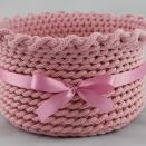 Koszyk różowy