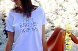 "t-shirt  ""MAM SUPER MOC..."""