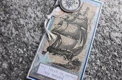 Kartka morska,Dzień Dziadka,urodziny,imieniny