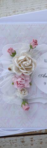 Kartka ślubna z personalizacją + pudełko a3