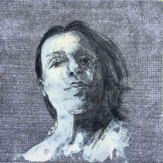 portret - czarno-biały