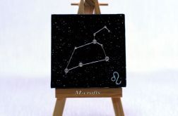 Kartka-Magnes: Znaki zodiaku-Lew