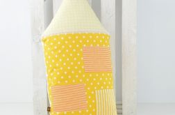 Poduszka dekoracyjna wałek 30x55cm - Domek B