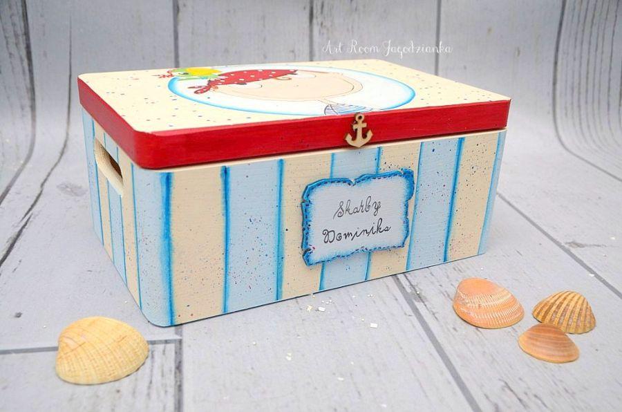 Kufer dla chłopca PIRAT