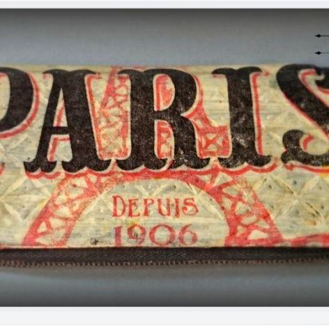 Etui na okulary - Paris - Decoupage
