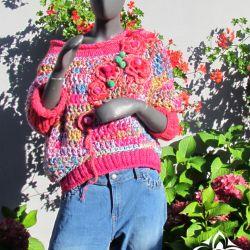 Sweter Różak