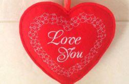 """Filcowe serce """"Love You"""""""