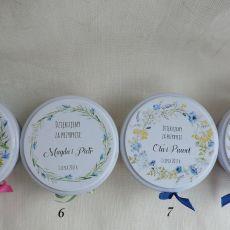 Prezenty dla gości mini świeczka