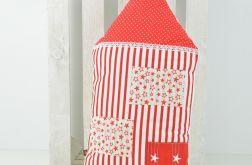Poduszka dekoracyjna wałek 30x55cm - Domek L