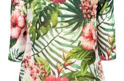 Letni sweterek kwiaty 01