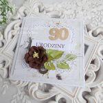 Kartka urodzinowa w pudełku 180 -