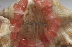 Różowy kwarc - kamienie naturalne