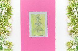 Kartka świąteczna minimalizm nr55