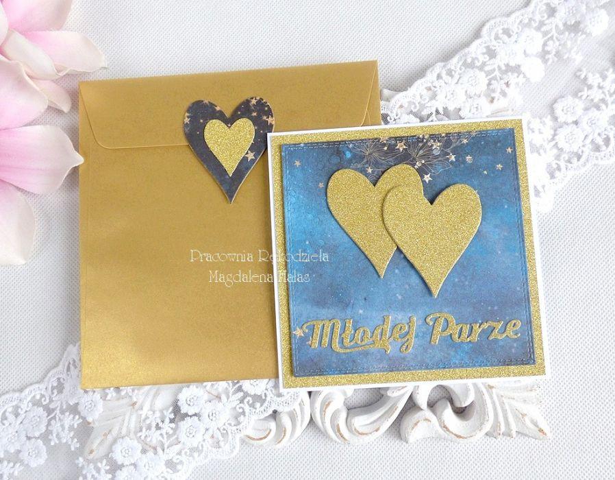 Ślubna kartka w kopercie 249