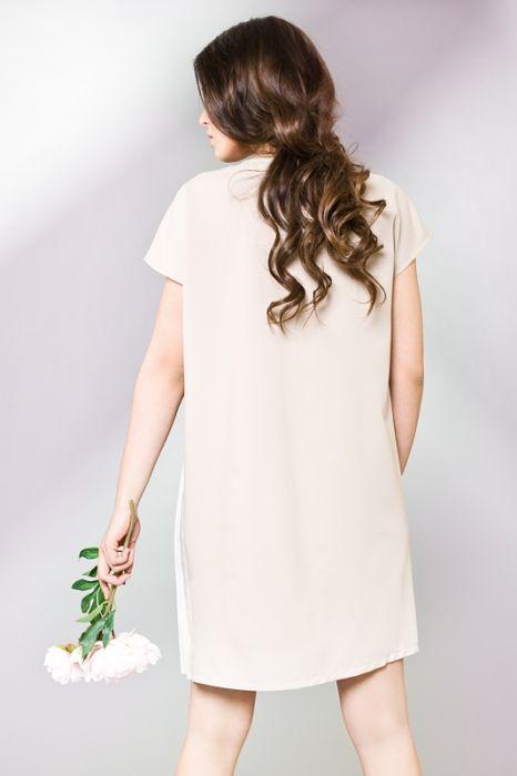 Kaszmirowa sukienka oversize
