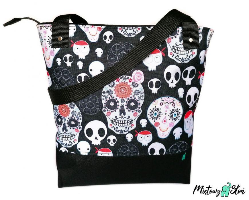 City Bag ~ wodoodporna ~ meksykańskie czaszki
