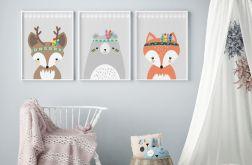Plakaty plemiennych zwierząt, A3