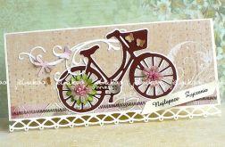 Rower z życzeniami