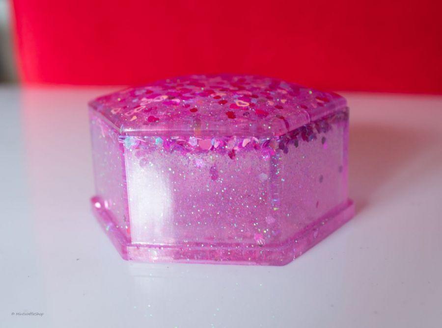 Pudełko szkatułka z żywicy - Pudełko