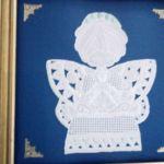 Pergaminowa anioł  obrazek