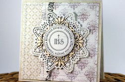 Kartka z okazji Pierwszej Komunii Świętej