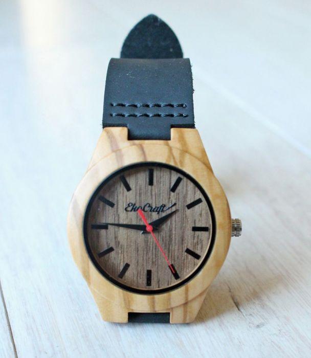 Damski drewniany zegarek OSPREY -