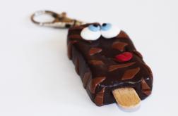 Brelok - czekoladowy lód