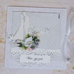 Karnet rocznica ślubu...ślub
