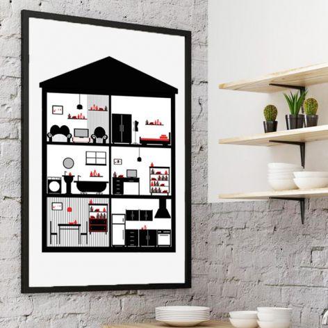 Plakat In House