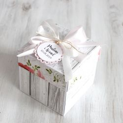 Pudełko - exploding box -ślub 3