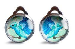 Jungle bird klipsy z ilustracją