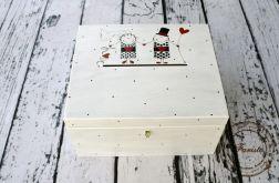 pudełko na życzenia ślubne