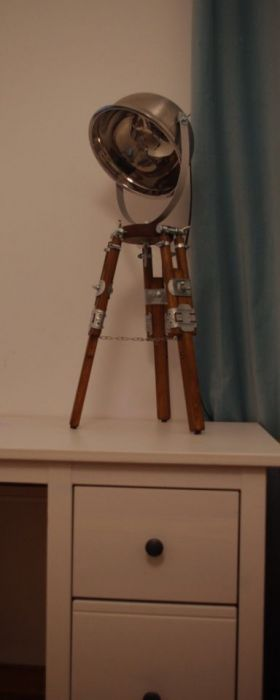Lampka biurkowa, Lampka nocna LOFT TRIPOD