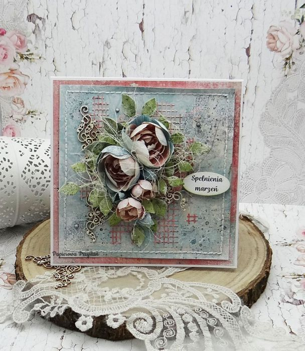 Spełnienia marzeń - kartka w pudełku SM