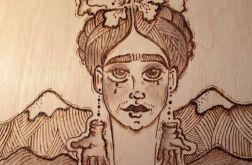 Płacząca Frida Kahlo