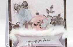 Z futerkiem - kartka świąteczna KBN2001