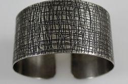 Metalowa bransoleta - kora 3