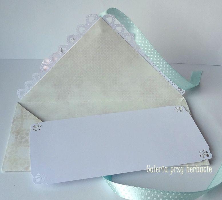 Kopertówka, kartka ślubna B6