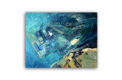 Wielki Błękit-obraz olejny na płótnie