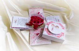 Exploding box z okazji ślubu