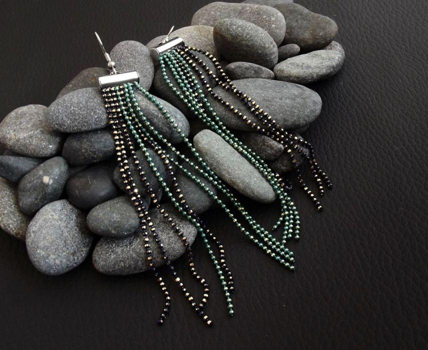 Solque 3 - kolczyki z łańcuszków