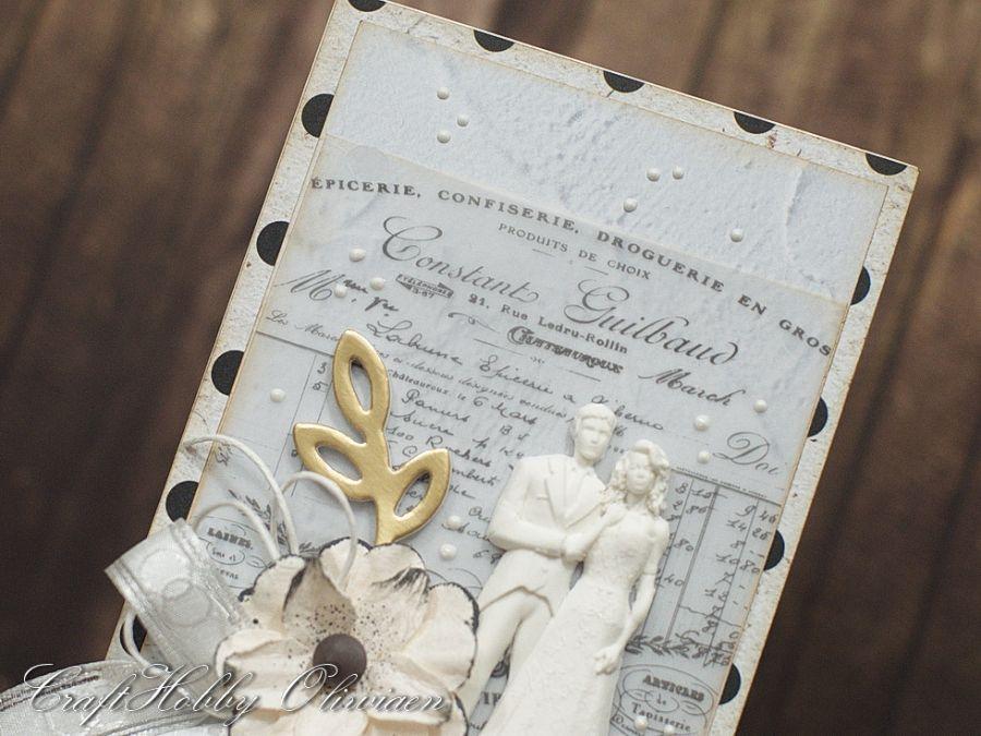 Ślubna para - Para ślubna - detal I