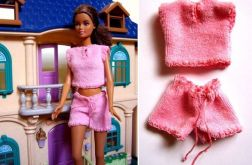 Różowa pidżamaka na letni sen