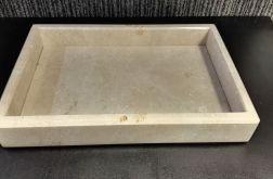 Taca z marmuru Crema Marfil 20 x 30 cm