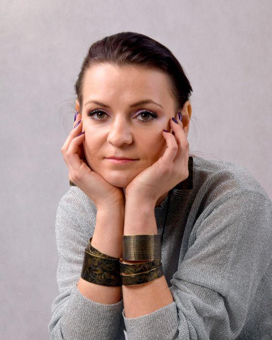 Pajęczyna – mosiężna bransoleta 2108-02 - mosiężna biżuteria